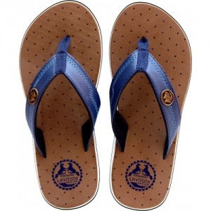 Levitate Tan EVA Flip Flops