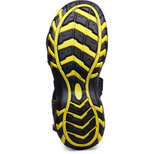 Mesha Men Yellow Sports Sandals