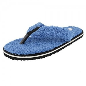 Travelkhushi Blue Grass Flip Flops for Men