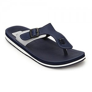 Adda Navy Blue Omega 1 Slip On Flip Flops