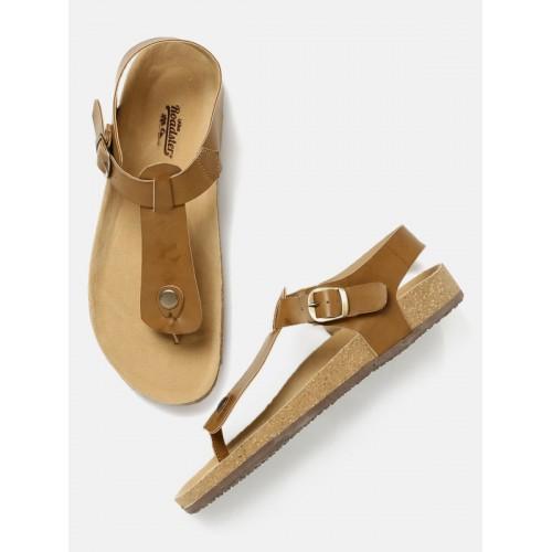 7fe511f86 Buy Roadster Men Tan Brown Comfort Sandals online