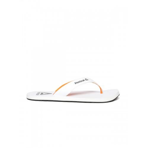 Buy Reebok Men White Advent Thong Flip-Flops online  8ddd960e7