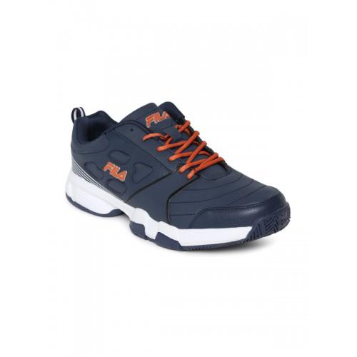 Buy FILA Men Navy Blue Becker II Tennis Shoes online  5ace377943d86