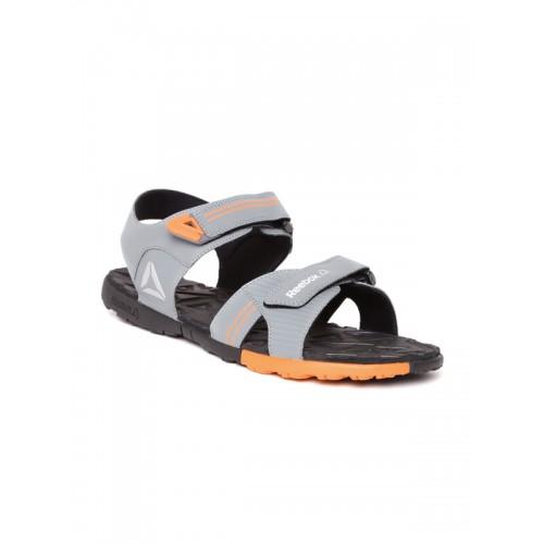 262c2c869c7c Buy Reebok Men Grey Globe Trotter Sports Sandals online ...