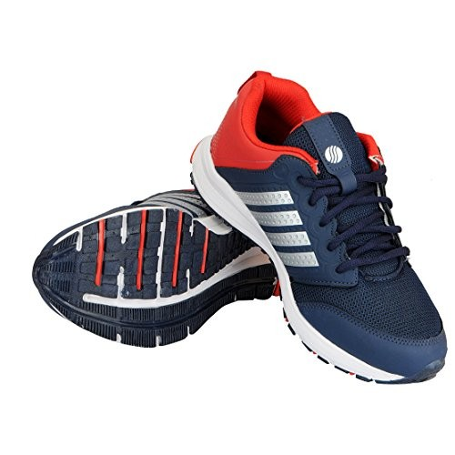 Action Navy Blue Running Shoes