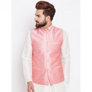 SOJANYA Pink Nehru Jacket