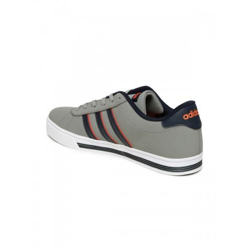 la meilleure attitude 2e69e ee8ac Buy Adidas NEO Men Grey DAILY TEAM Sneakers online | Looksgud.in