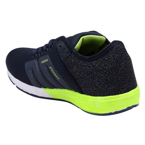 Look & Hook Fhonex Lace Up Navy Blue Running Shoes