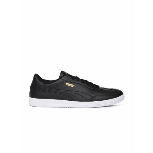 Puma Unisex Black Astro Cup Leather Sneakers