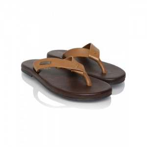 Alberto Torresi Men Brown Leather Chappal