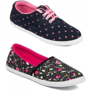 Asian Women's Combo Pack of 2 casual shoes Casuals For Women