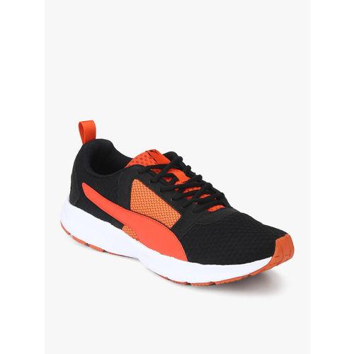 Puma Deng IDP Black & Orange Running Shoes