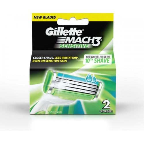 Gillette Mach 3 Sensitive Cartridges