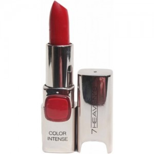 7 Heaven's Color Intense Lipstick (3.8 g, Hot Red)