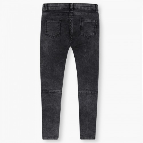 FAME FOREVER Acid-Washed Zip Pocket Jeans