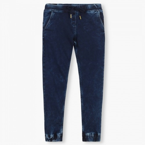 BOSSINI Slant Pocket Denim Joggers