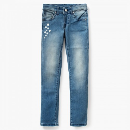 UNITED COLORS OF BENETTON Embroidered Jeans