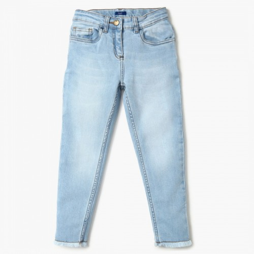 FAME FOREVER Light Wash Skinny Fit Jeans