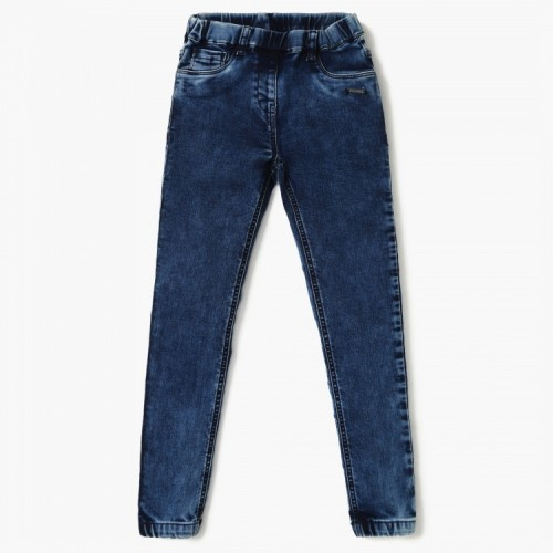 BOSSINI Washed Elasticated Waist Jeans