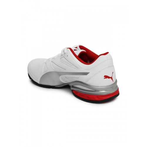 5e9eec1372c Buy Puma Men White Tazon Modern SL FM Running Shoes online
