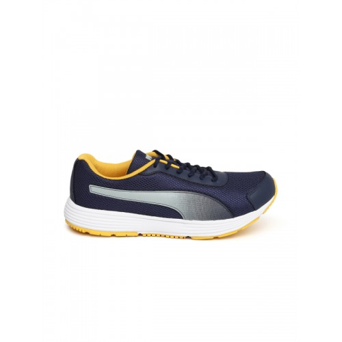 31d100b0781 Buy Puma Men Navy Blue Aeden Running Shoes online