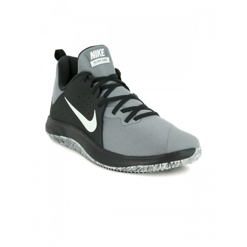 a2d75e1b0dfd4 Buy Nike Men Grey Fly By Low Basketball Shoes online | Looksgud.in