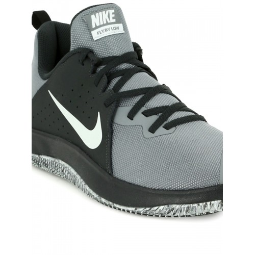 81a81297593 Buy Nike Men Grey Fly By Low Basketball Shoes online