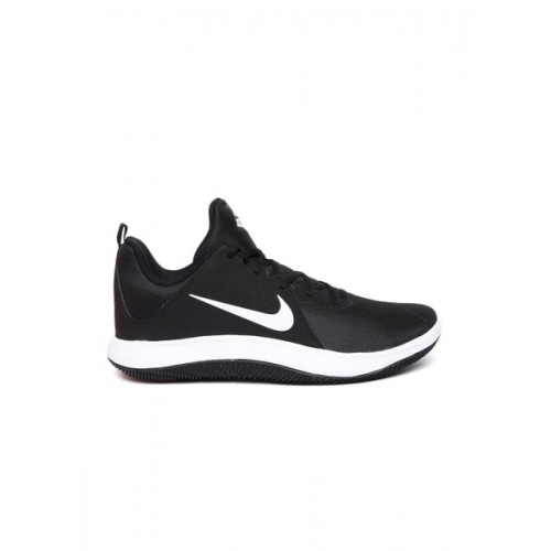 Nike Black FLY.BY LOW Basketball Shoes