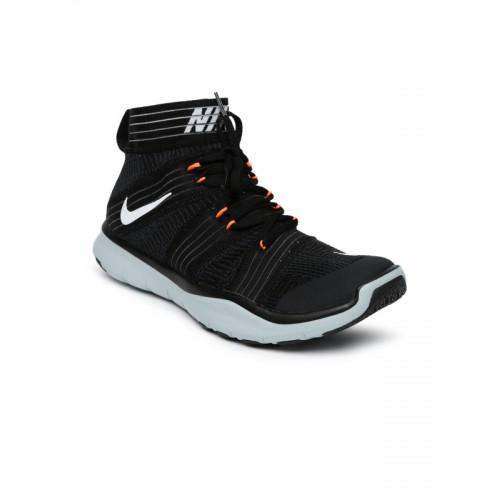6255ed1da7b Buy Nike Men Black FREE TRAIN VIRTUE Mid-Top Training Shoes ...