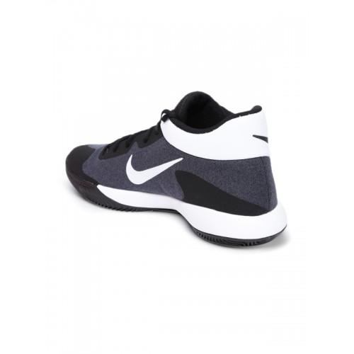 on sale 12370 646c3 ... Nike Men Charcoal Grey   White KD TREY 5 V Basketball Shoes ...