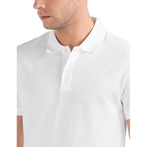 GAP Men's Short Sleeve Solid Pique Polo