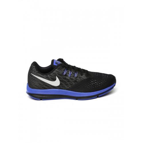 Nike Zoom Winflo 4 Black Running Shoes