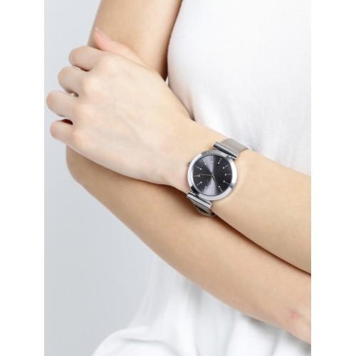 DressBerry Women Grey Analogue Watch