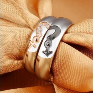 Magic Stainless Steel Couple Ring