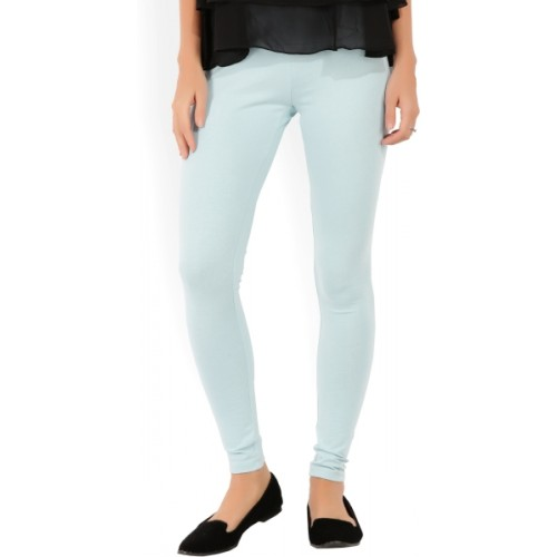 46a75c0f9 Buy W Solid Women s Light Blue Tights online