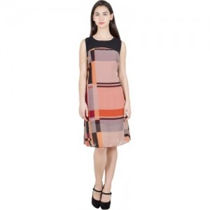 G & M Collections Multicolor Women's A-line Dress