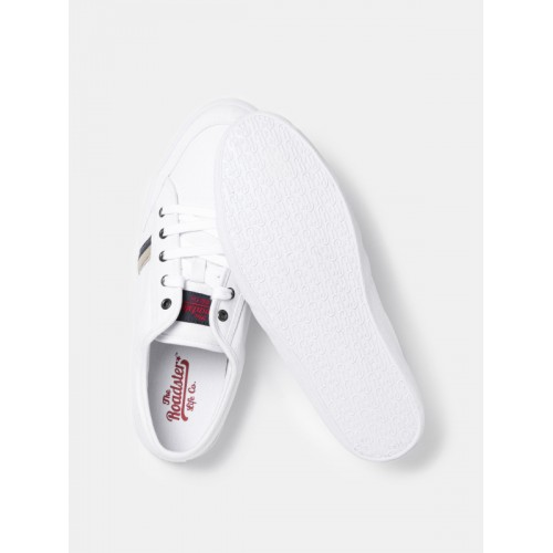 Roadster Men White Casual Shoes