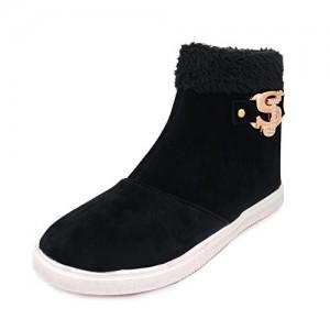 Thari choice Long Black Boots for Women