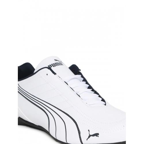 1e06a2186dd Buy Puma Men White BMW MS Future Kart Cat2 Low Sneakers online ...