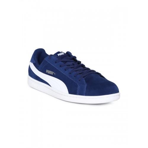 3824fcd82f4 Buy Puma Smash Sd Navy Blue Sneakers online | Looksgud.in