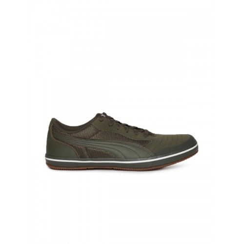 9e65cfab90a Buy Puma Olive Green Astro Sala Sneakers online
