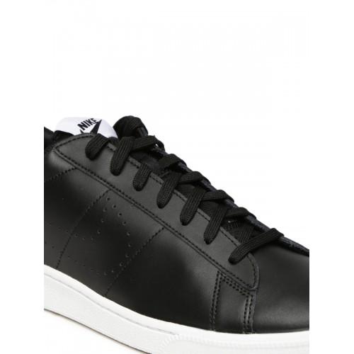 premium selection 430ca 28418 Nike Men Black TENNIS CLASSIC CS Leather Sneakers ...