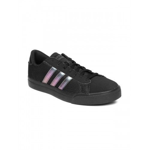 new arrival 1be16 643ed ... Adidas NEO Men Black CF Super Daily Sneakers ...