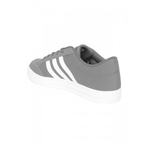 eb19946bf427 Buy Adidas NEO Men Grey VS Set Sneakers online