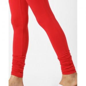 0484457c2fc6be Buy Newrie Womens Cotton Elastane Ecru Olive Churidar Leggings ...