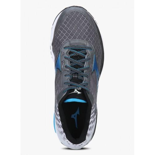 MIZUNO Wave Rider 19 Grey Running Shoes