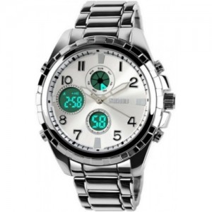 Skmei Addic Silver Dial Watch  - For Men