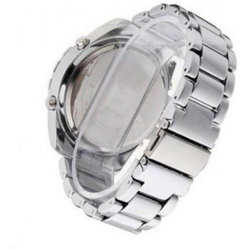 Skmei Addic Silver Dial Watch  - For Men
