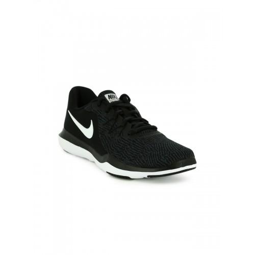 66594771de87 Buy Nike Women Black FLEX SUPREME TR 6 Training Shoes online ...