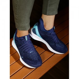 Puma Women Blue Ignite Netfit Running Shoes